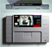 Addams Family Values - Action Game Cartridge US Version