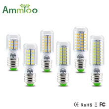 5730 E27 E14 LED Lamp 5730SMD LED Lights Led Corn Bulb 24 36 48 56 69 72Leds Chandelier Candle Lighting Pendant Light 10pcs lot(China)