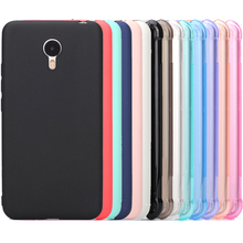 Meizu m3 note case cover Silicone case for meizu m3 note Crystal and solid colors Soft