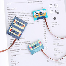 Coloffice Vintage Style Bookmark Magnetic Tape shape with ribbons cute Bookmarks 1 PC Gift Stationery School office suppliers