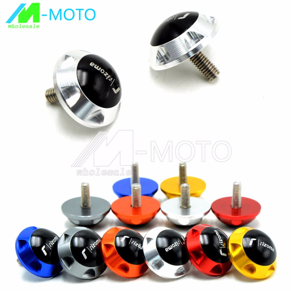 1 pair univer 6mm Motorcycle parts Motorcycle Decorative screw FOR Yamaha Tmax 530  tmax530 2012-2014<br><br>Aliexpress