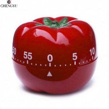 cooking tools alarm clock kitchen timer dial timers tomato creative fashion cute red 60minute Pretty