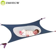 Infant Safety Baby Hammock Print Newborn Photography props Baby Photo props Accessories Children's Detachable Portable Bed(China)