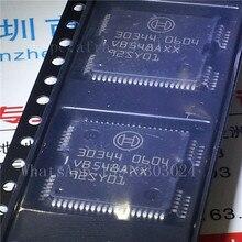 Бесплатная доставка 10 шт. 30344 драйвер ic чип для bosch впрыска топлива автомобилей компьютерное обслуживание чип qfp64