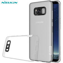 Case  For Samsung Galaxy S8 S8 Plus NILLKIN Nature Transparent Clear Soft Silicon TPU Protector Case Cover For Samsung Galaxy S8