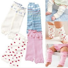 Buy Lovely bowknot loving heart falbala toddler kids candy knee pad socks children baby girls Leg Warmers 12pair/lot Free for $18.91 in AliExpress store