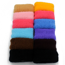 1bag 12pcs/bag Gum Rubber Bands Colorful Black Elastic Seamless Ponytail Holders Hot 2016 New Fashion Girl Women Tie Gum