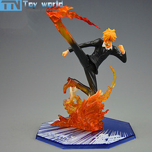 One Piece Action Figure luffy partner Sanji SC Figures 16cm PVC model Toy dolls for kids Best Collection Gifts with retail box