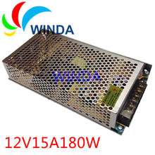 12V 15A 180W DC power supply EU/US adapter for cctv camera system variable dc power supply UPS