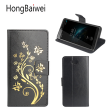 Buy HongBaiwei Homtom HT10 Case Luxury Brand Flower Henna Clear Flip Leather Wallet Phone Bag Case Homtom HT10 for $4.19 in AliExpress store