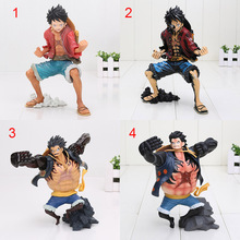 18cm Anime One Piece King Of Artist The Monkey D Luffy king of coloring PVC Action Figure Collectible Model Toy
