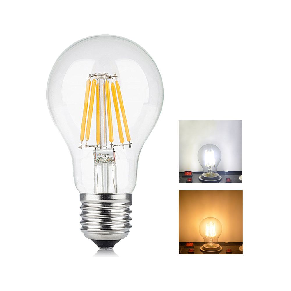 Vintage edison bulb old fashioned lamp classic a60 led 2w or 4w - Antique Led Edison Bulb E27 2w 4w 6w 8w Vintage Led Lamp 220v 110v Retro Led