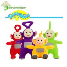 Skyleshine 4Pcs/Set Stuffed Stuffed Teletubbies Dolls Kawaii Plush Toys Christmas Gift For Baby S21002