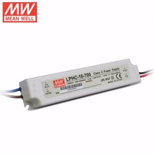 Mean Well LPHC-18-700 18W 6~25V 700mA LED Waterproof Driver, Single Output Switching Power Supply(China)