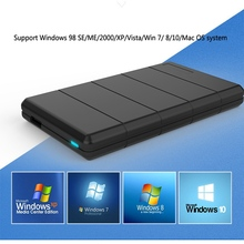 Seatay High Quality 2.5 HDD 2.5 SATA III Enclosure USB 3.0 External HDD Case Support For Windows System For Mac OS System