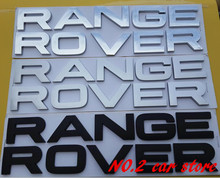 Free shipping High quality RANGE ROVER sticker badge emblem car logo Car Rear Trunk styling auto accessories