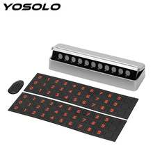 Buy YOSOLO Car Temporary Parking Card Hidden Replace Mobile Phone Number Card Auto Accessories Rocker Switch Drawer Plate for $5.60 in AliExpress store