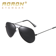 AORON New Pilot Aviator Sunglasses Men Polarized Male Sun Glasses For Man Famous Luxury Brand Designer Eyewear Oculos Lunette