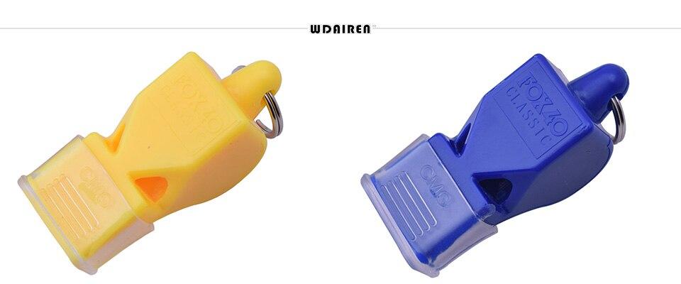 HTB1LaP4mgLD8KJjSszeq6yGRpXaq - High Quality Whistle Plastic FOX 40 Soccer Football Basketball Hockey Baseball sports Classic Referee Whistle Survival Outdoor