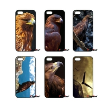 For iPod Touch iPhone 4 4S 5 5S 5C SE 6 6S 7 Plus Samung Galaxy A3 A5 J3 J5 J7 2016 2017 Amazing Golden Eagle Fly Case Cover(China)