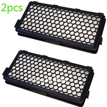 2pcs  Vacuum Cleaner Active HEPA Air Clean Filter for Miele SF-AH50 AH50 05996882 S8330 S6240 Series replacement  filter