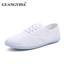 New 2016 women canvas shoes breathable fashion brand women flat shoes woman size 35-42