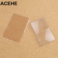 ACEHE Magnifying Glasses Pocket Credit Card Size Transparent glasses 3x Magnifier Magnifying Fresnel Lens