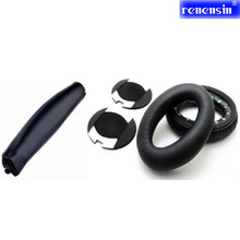 RNX Replacement headband Cushion Earcap + a pair Pads ear cover case for Bose QuietComfort 2 15 QC2 QC15 headphone ear cushions(China)