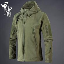 Military Tactical Fleece Jacket Men US Army Polartec Windbreaker Clothes Male Multi Pockets Outerwear Hoodie Coat For Men(China)