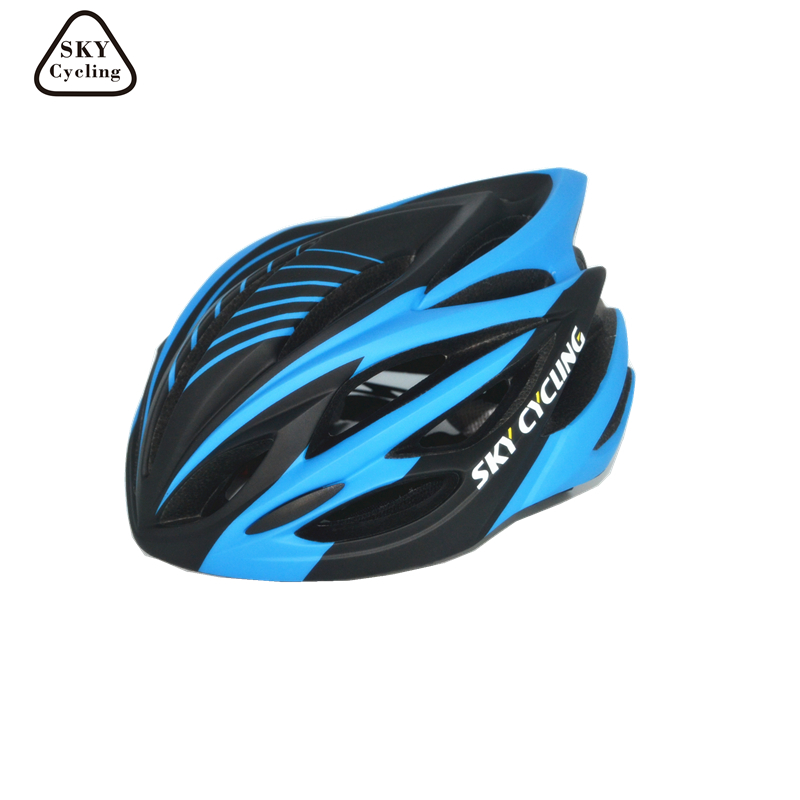 Sky Cycling In-molded Bicycle Helmet EPS Mtb/Road Safety Bike Helmet Capacete Da Bicicleta for Mens Outdoor Casco Ciclismo<br>