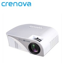 Crenova RD-805B Support Korean Newest Multimedia Portable Handheld Projector Mobile Phone Portable DVD Projectors for Home Use