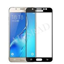 3D Full Cover Tempered Glass Samsung Galaxy A3 A5 A7 J3 J5 J7 2016 A310 A510 A710 J310 J510 J710 Screen Protector Film
