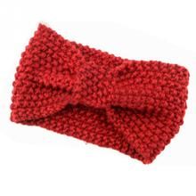 Newest Fashion Women Winter Bowknot Knit Hairband Warm Wool Headband Girls Headband