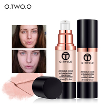 O.TWO.O Full Coverage Make Up Fluid Foundation Concealer Whitening Moisturizer Oilcontrol Waterproof Liquid Foundation suit(China)