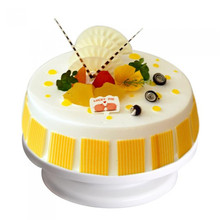Cake Stand Plate Decorating Bakery Supplies Professional Turntable Revolving