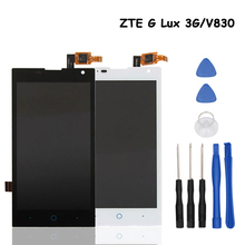 For ZTE G Lux 3G/V830 LCD Display Screen Perfect Replacement Mobile Accessories For ZTE G Lux 3G/V830 Mobile Phone With Tools(China)