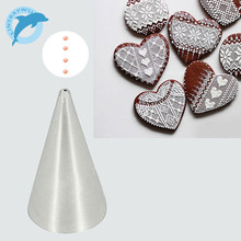LINSBAYWU #1 1mm Round Decorating Cake Piping Tips Icing Tubes Pastry Nozzles Cupcake Tool(China)