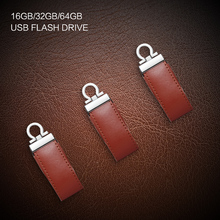 OTG 16GB 32GB 64GB Flash Drive Waterproof Portable Leather 2 in 1 USB2.0 Mirco USB Memory Stick Storage Device U Disk For Tablet