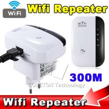 New Brand Wireless N Wifi Repeater 802.11N/B/G Network AP Router 300Mbps Range Expander Signal Antennas Booster Extend EU/US