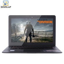 ZEUSLAP 14inch 4GB Ram+64GB SSD+500GB HDD Fast Boot Running Windows 7/10 Quad Core Ultrathin Game Notebook Laptop Computer(China)