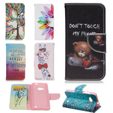 For Microsoft Lumia 550 N550 National Style Folio Flower Painting Wallet Bag Card Holder Flip Leather Case For Nokia Lumia 550