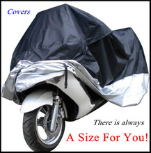 Big Size Motorcycle Cover Waterproof Outdoor Uv Protector Bike Rain Dustproof, Covers for Motorcycle, Motor Cover Scooter G