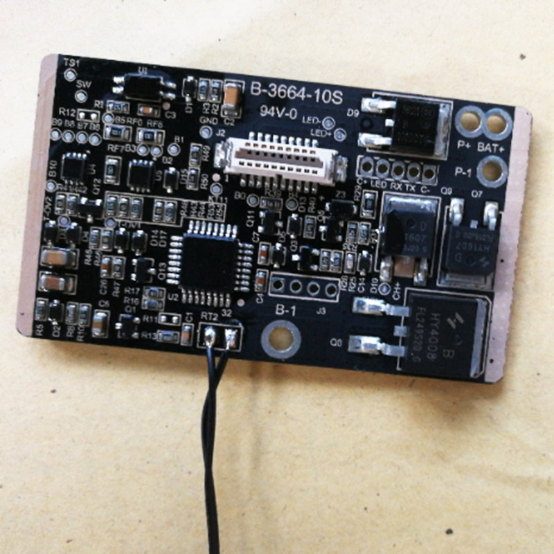 For Xiaomi BMS 10S BMS for Xiaomi M365 BMS Electric Scooter BMS Circuit board
