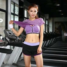 2017 Lulu 3 Piece Yoga Sets Gym Fitness Clothing Women Training Running jogging Suits Workout Activewear Sports Wear Promotion