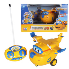 Super Wings Remote Control  Airplane Action Figures Toys Super Wing RC helicopter for children gift Brinquedos