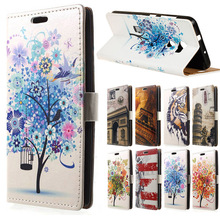 for HTC X10 CASE CARTOON PU Leather Wallet Flip Stand Cover case sFor HTC One X10 E66 5.5 inch mobile phone cases capa coque