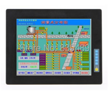 8-inch Industrial LCD PC Monitor, Rugged LCD Monitor, USB/RS232 Touchscreen, VESA & Panel Mount, 12V DC IN, OEM/ODM