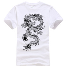 Buy 2017 Summer New men women brand t-shirt Fashion Dragon printing cool t shirt Plus size short sleeves t shirt men #094 for $5.89 in AliExpress store