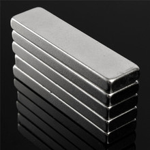 10pcs 40 x10 x 4 mm Big N52 Strong Rectangle Block Bar Fridge Magnets Rare Earth Neodymium applicable to Car Audio and so on
