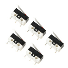 5pcs Miniature Switch Long Lever Arm Actuator SPDT Limit Mini Micro Switches 2A 125V(China)